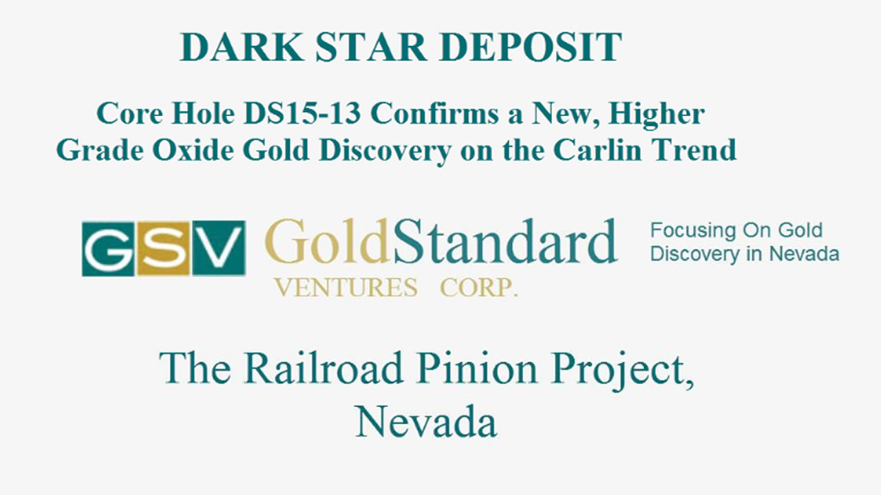 Gold Standard Ventures Railroad Pinion Gold Projects, Nevada